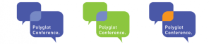 New logo of the Polyglot Conference