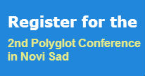 Registration for the 2nd Polyglot Conference